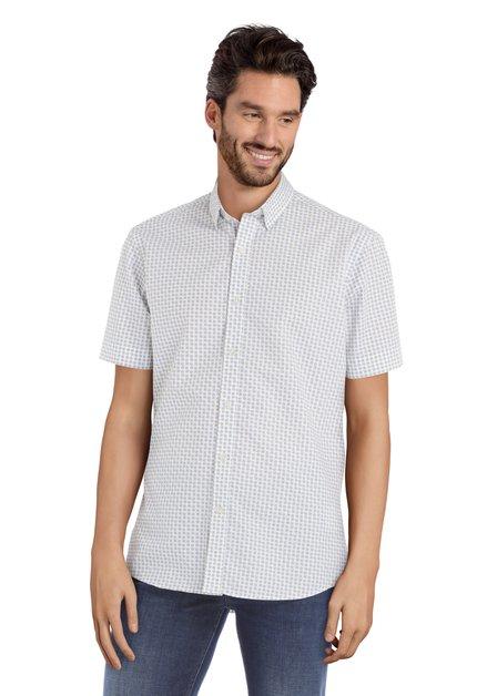 Wit hemd met stippen - Sandro – slender fit