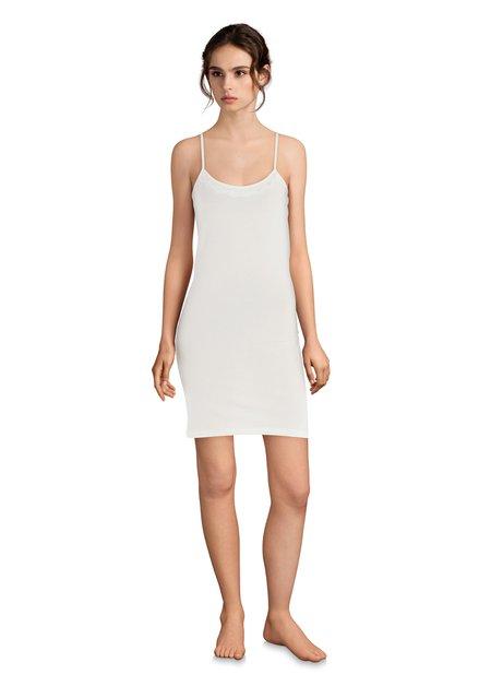 Wit onderkleedje met kant