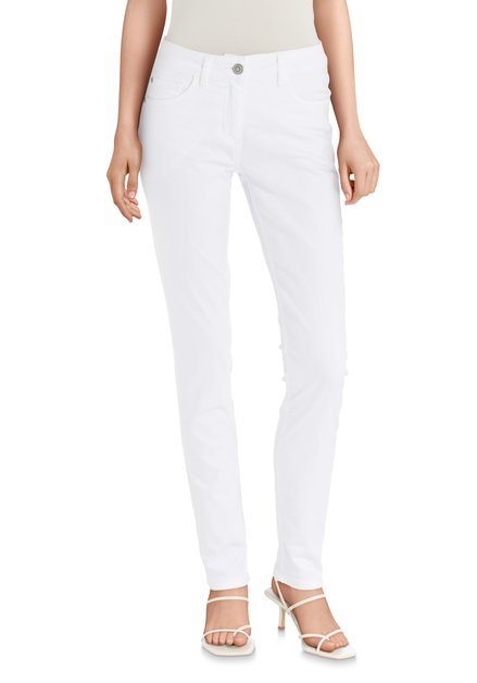 Witte jeans - slim fit