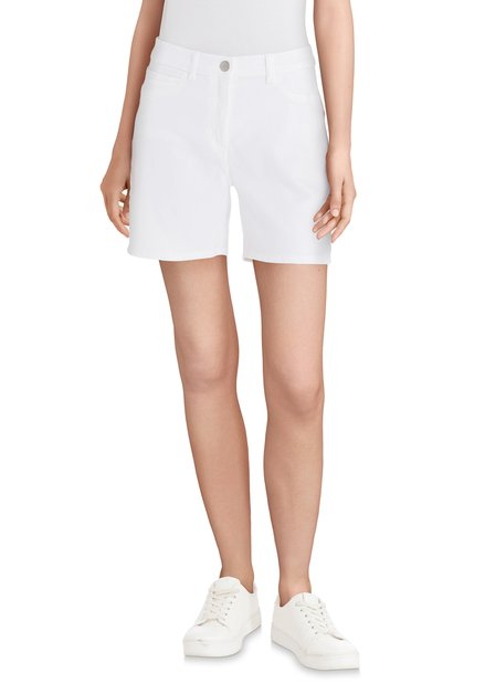 Witte jeansshort