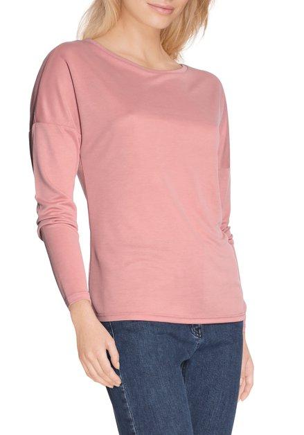 Zalmroze T-shirt in modal