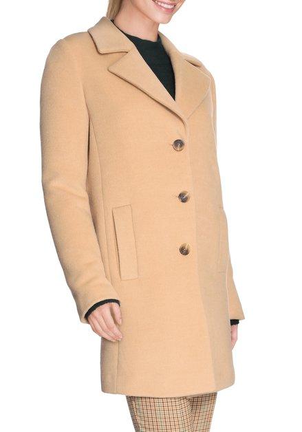 Zandbruine camel coat