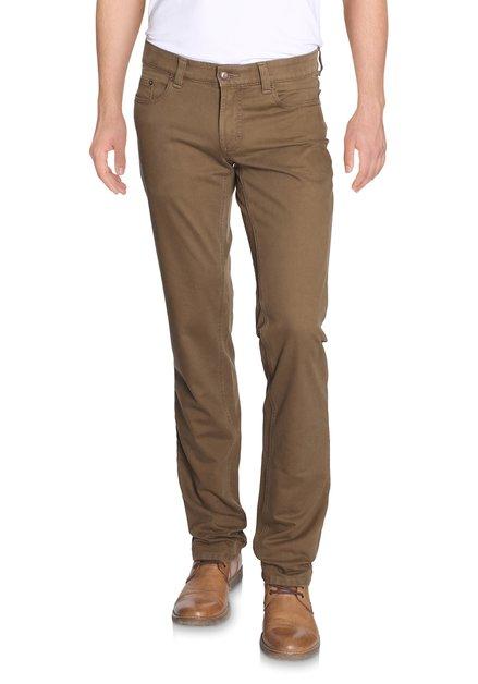 Zandkleurige broek - Jackson - regular fit