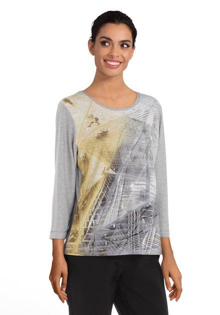 Zilverkleurig T-shirt met lurex