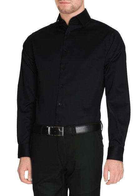 Zwart hemd - slender fit