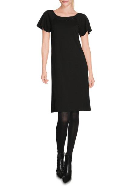 Zwart kleed met pailletten