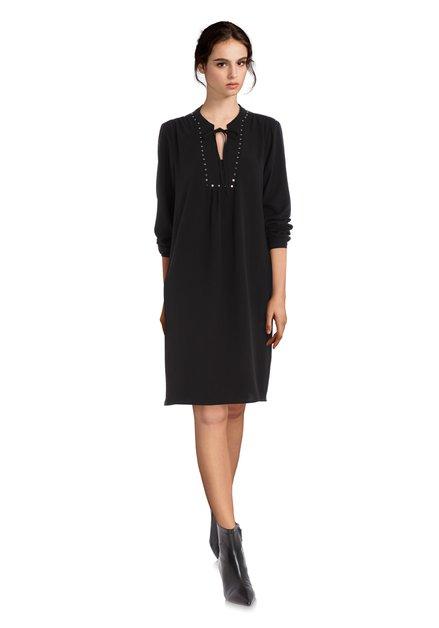 Zwart kleed met studs