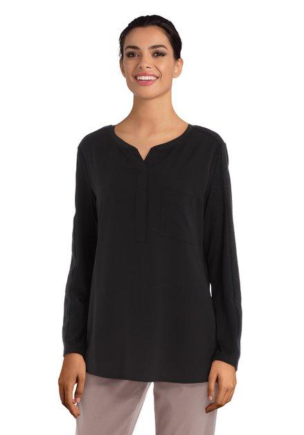 Zwarte blouse met lurex