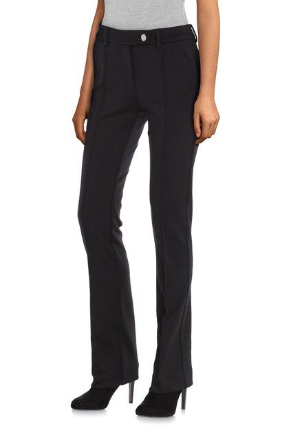 Zwarte broek - flared fit