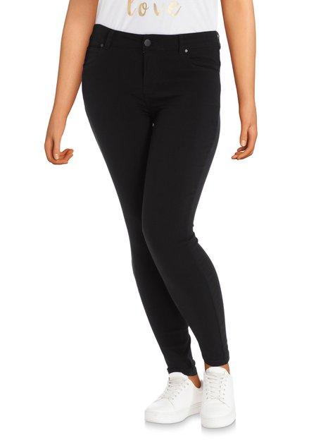 Zwarte broek in stretch – slim fit