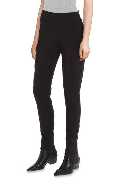 Zwarte broek met stretch - slim fit