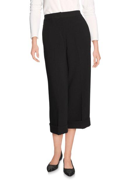 Zwarte culotte broek