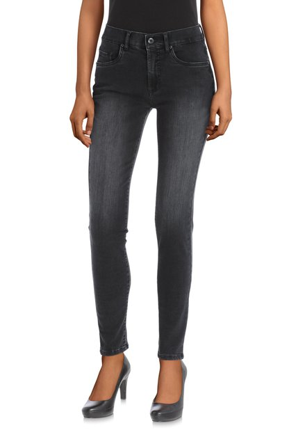 Zwarte denim – magic denim – Skinny fit