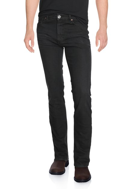 Zwarte denim - slim fit