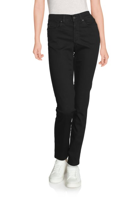 Zwarte denim - straight fit