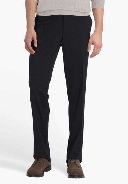 Zwarte geklede broek Louisiana - Regular Fit