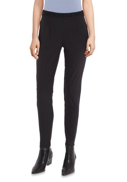 Zwarte legging met elastische tailleband