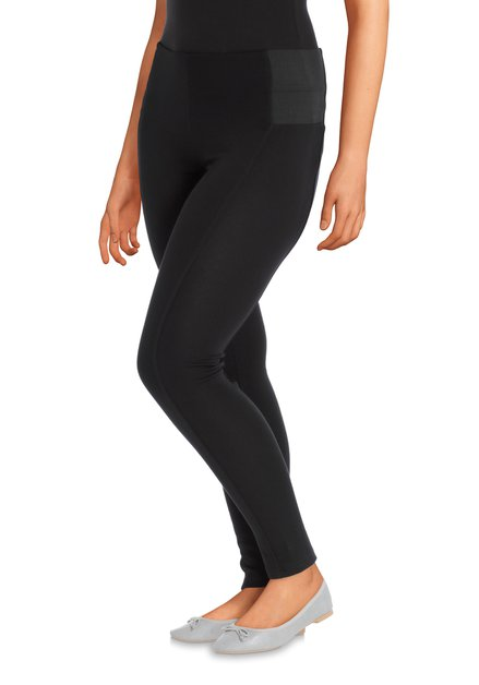 Zwarte legging met stevige elastische band
