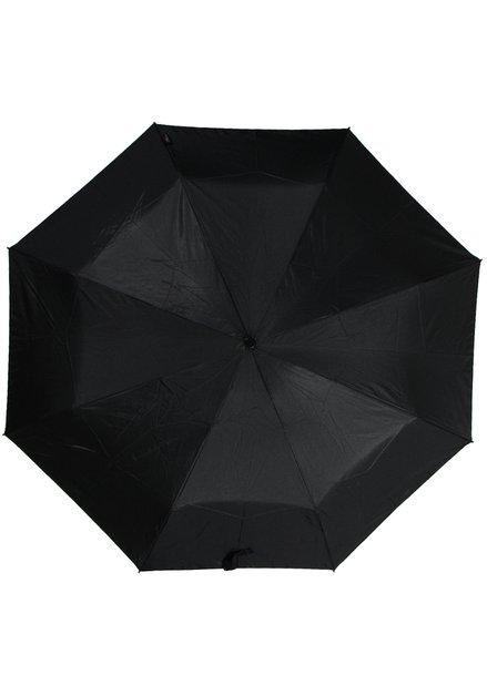 Zwarte opvouwbare paraplu automatische open/close