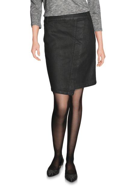 Zwarte rok met coating