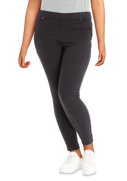 Zwarte stretchbroek – slim fit