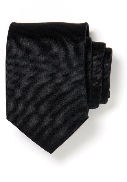 Zwarte zijden das