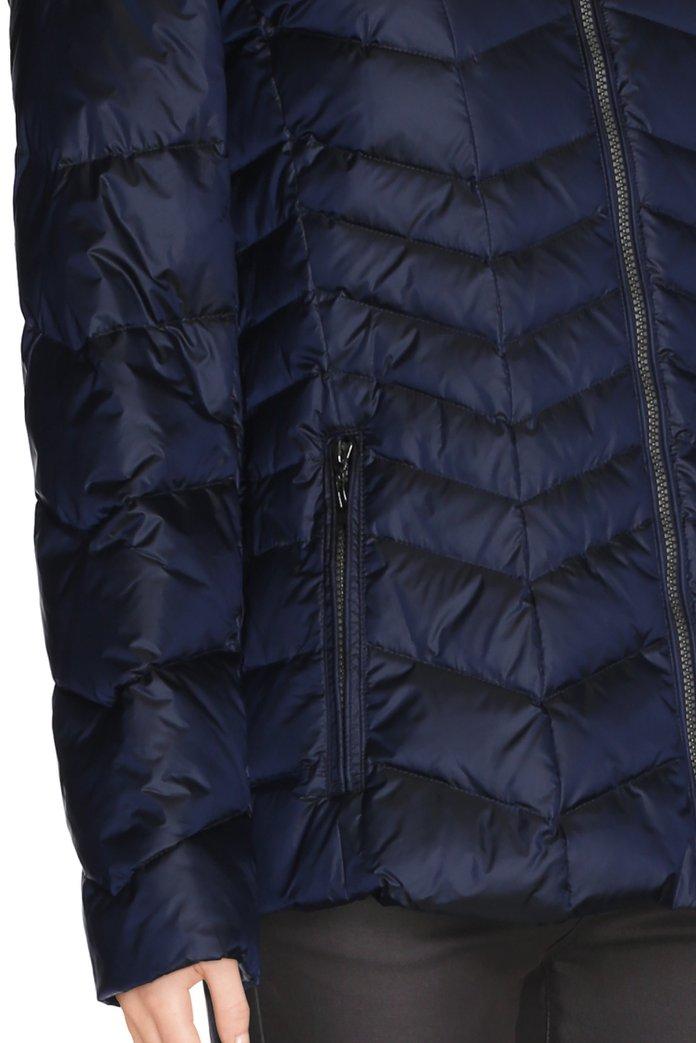 600fffdd07 Doudoune fine à capuche bleu foncé électrique (2938389) | e5 mode