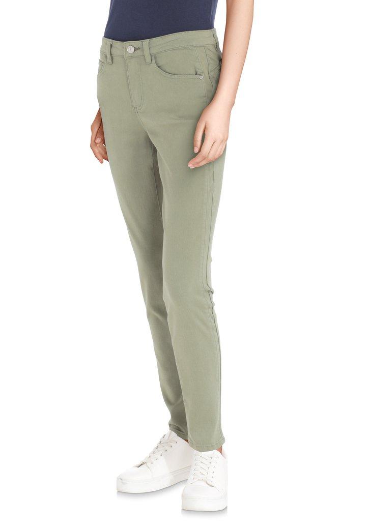 Joggingbroek Slim Fit.Kaki Broek Slim Fit Van C Est Beau La Vie 4671760 E5 Mode