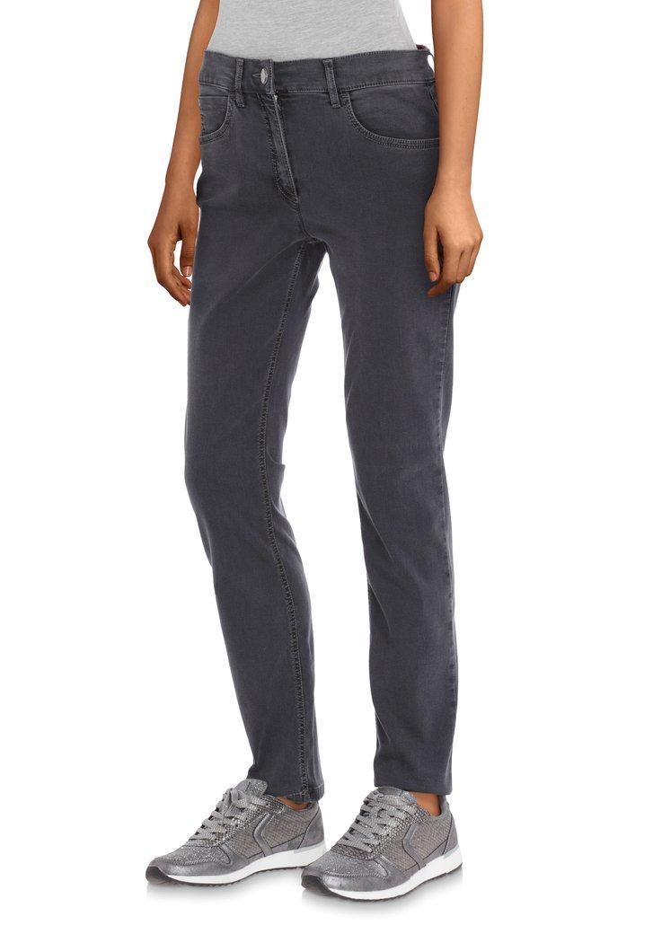 Afbeelding van Antraciet jeans - slim fit