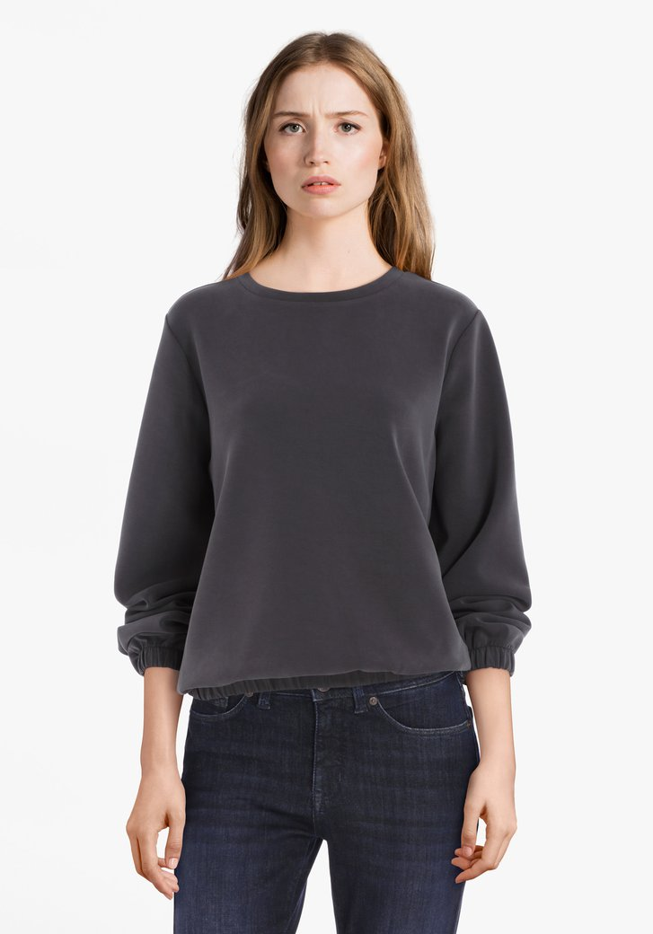Antraciet sweater
