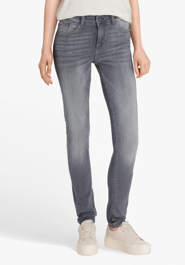 Antracietkleurige jeans - skinny fit