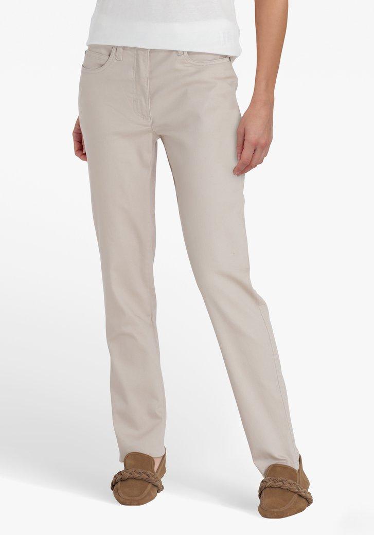 Beige broek - L30 - straight fit