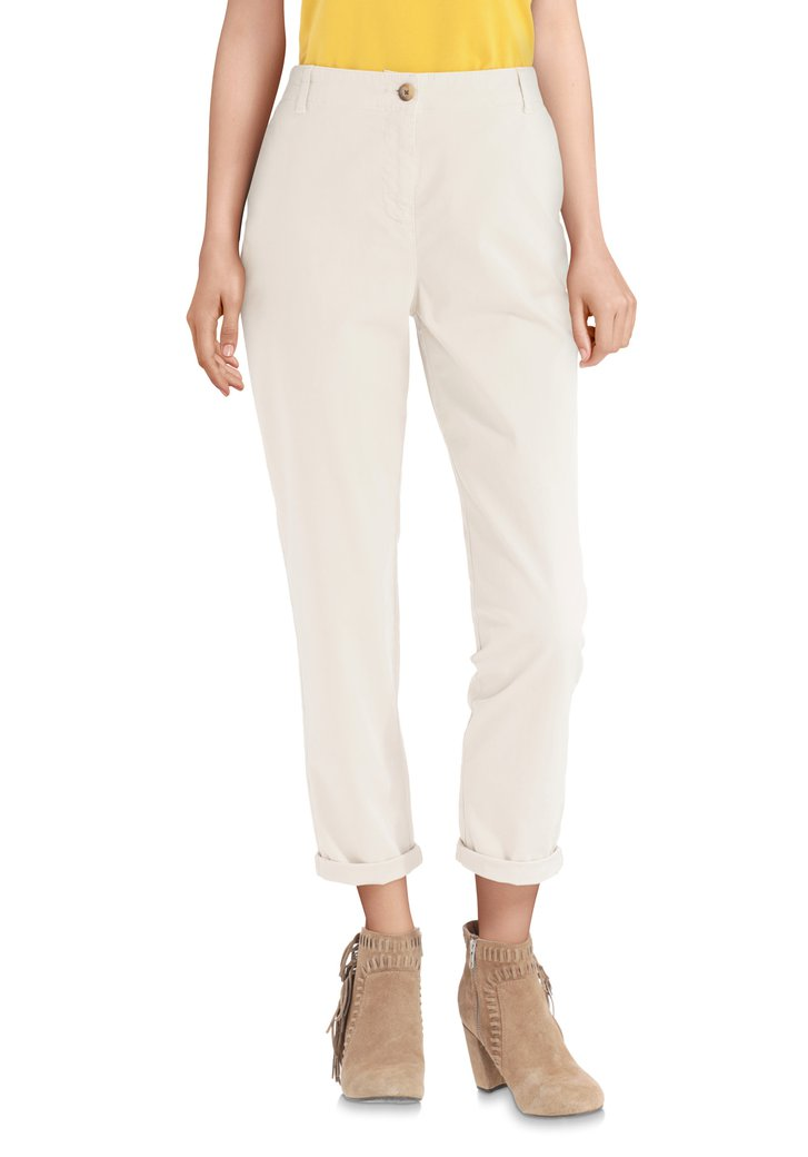 Beige broek - regular fit