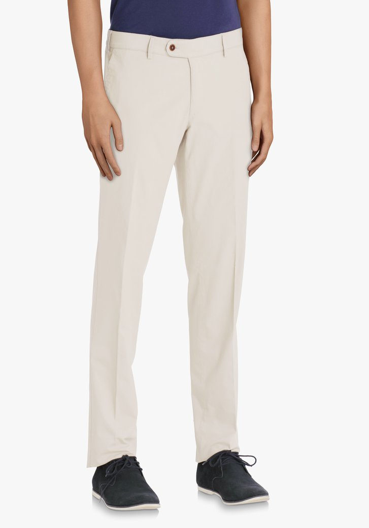 Beige chino – Louisiana – regular fit