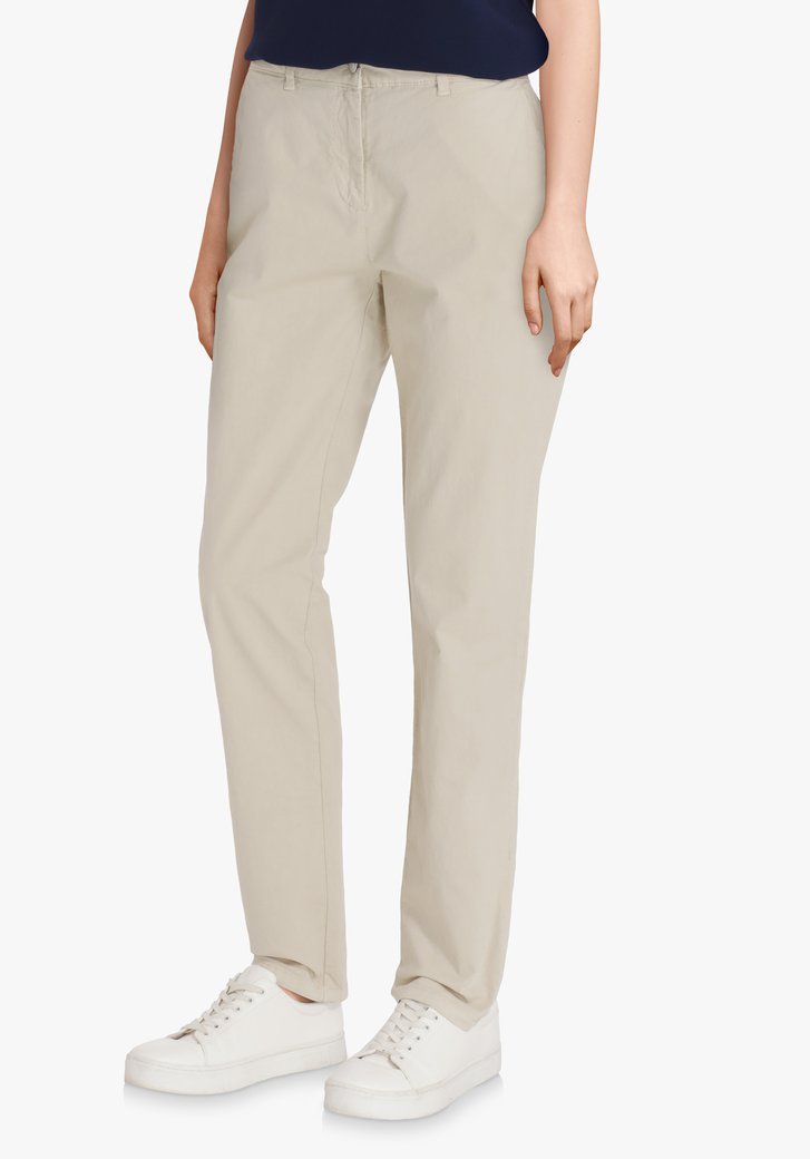 Beige chino – slim fit