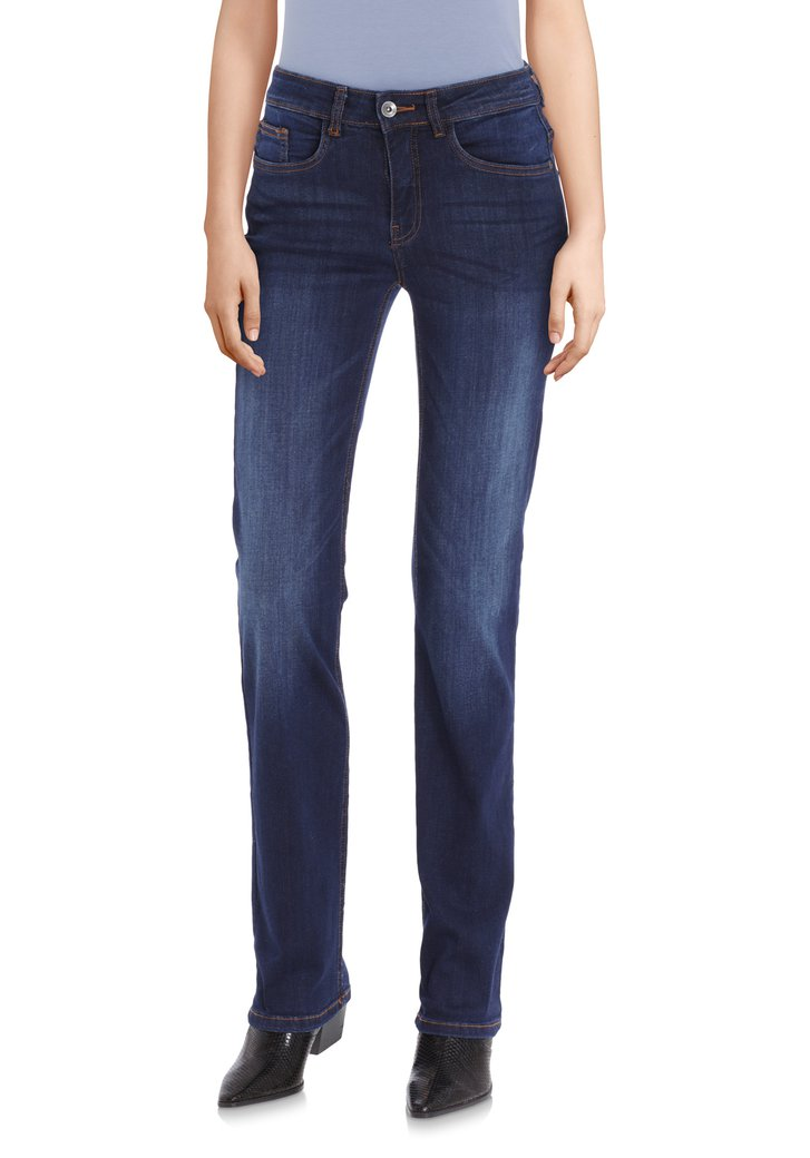 Blauwe jeans - Bridget - straight fit