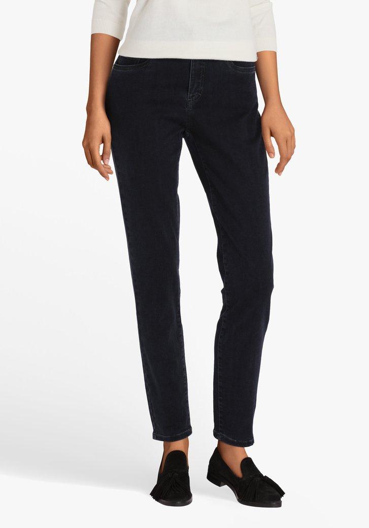 Blauwe jeans in stretchstof – skinny fit