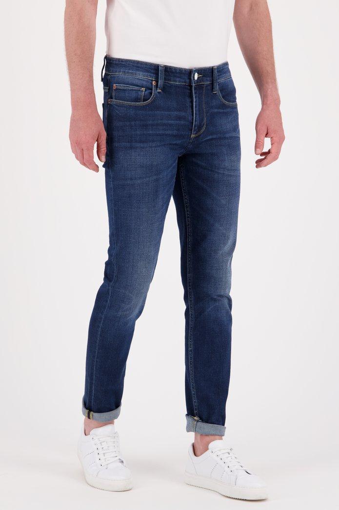 Afbeelding van Blauwe jeans met wassing - Tim - slim fit - L34
