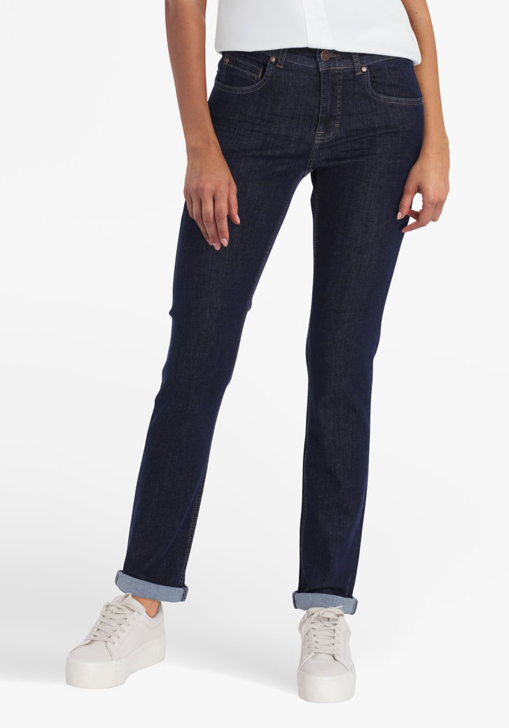 Blauwe jeans - straight fit