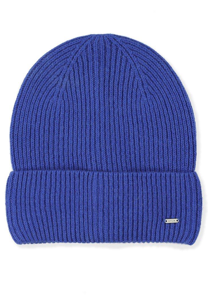 Bonnet bleu roi