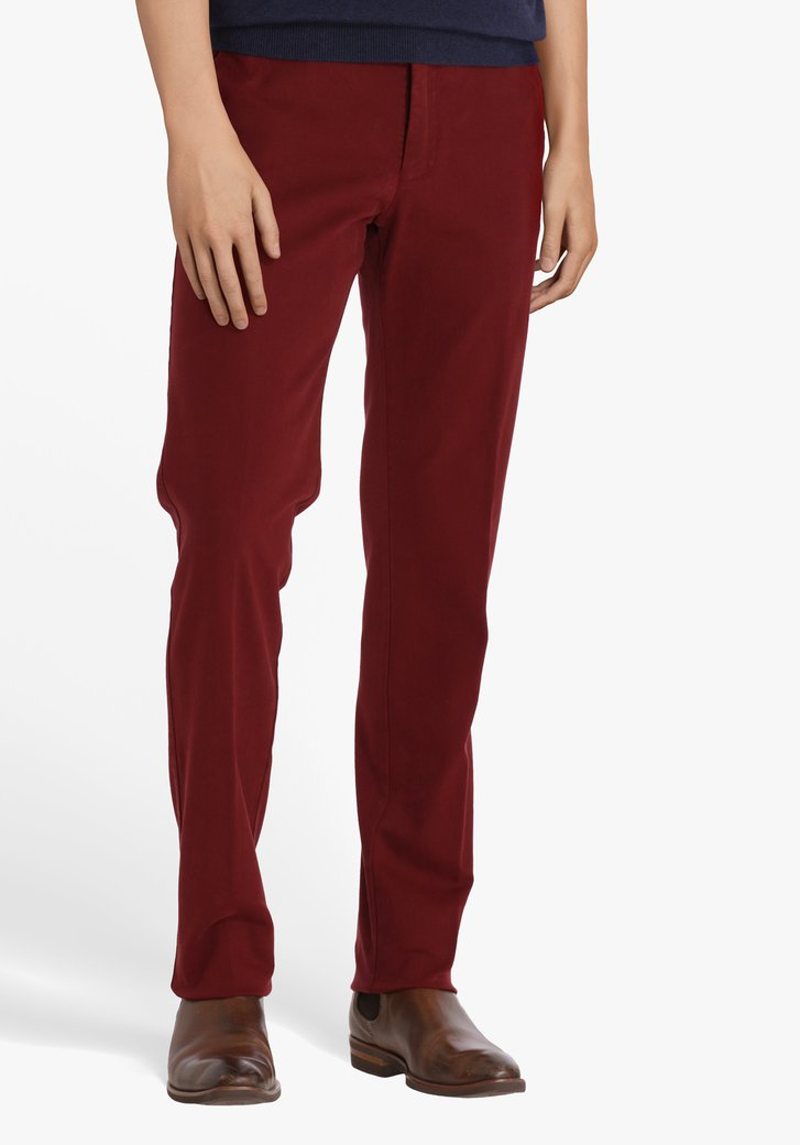 Bordeaux chino - New York - Slim fit