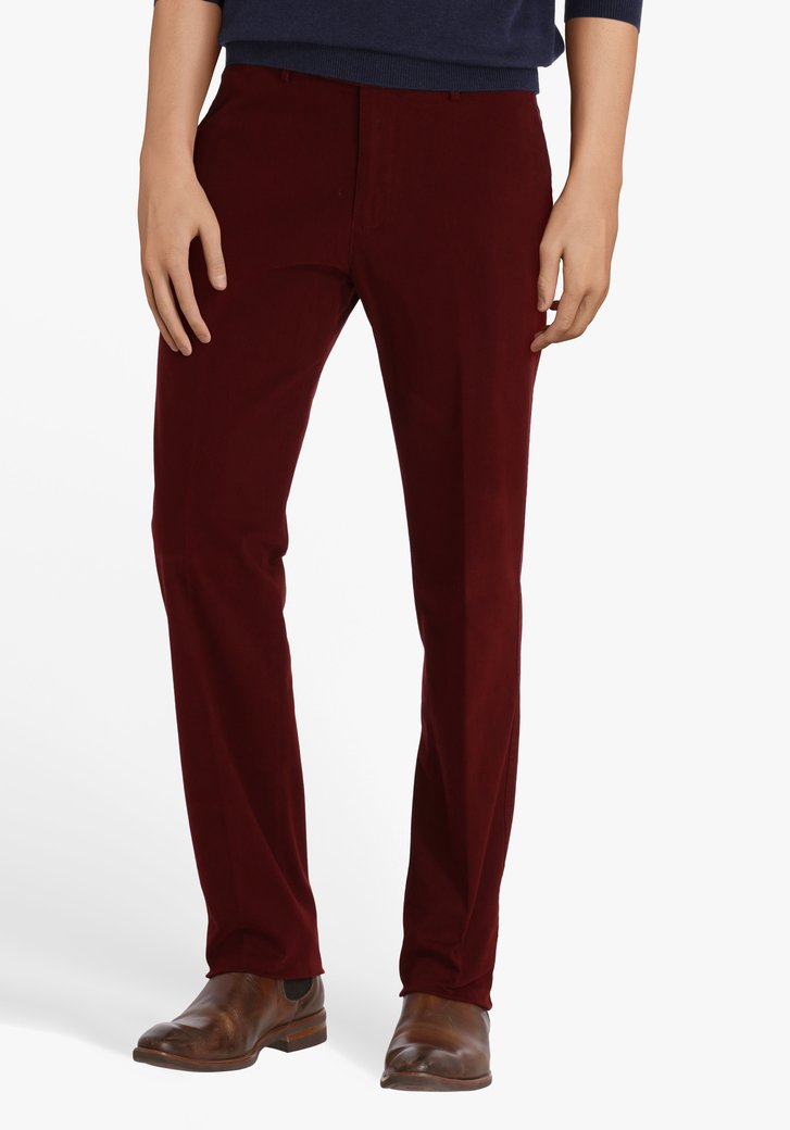 Bordeaux chino - Vancouver - regular fit