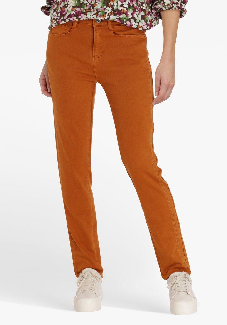 Bruine jeans - slim fit