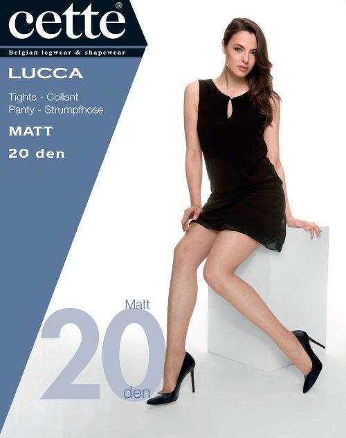 Bruine panty Lucca - 20 den Dames, merk: Cette