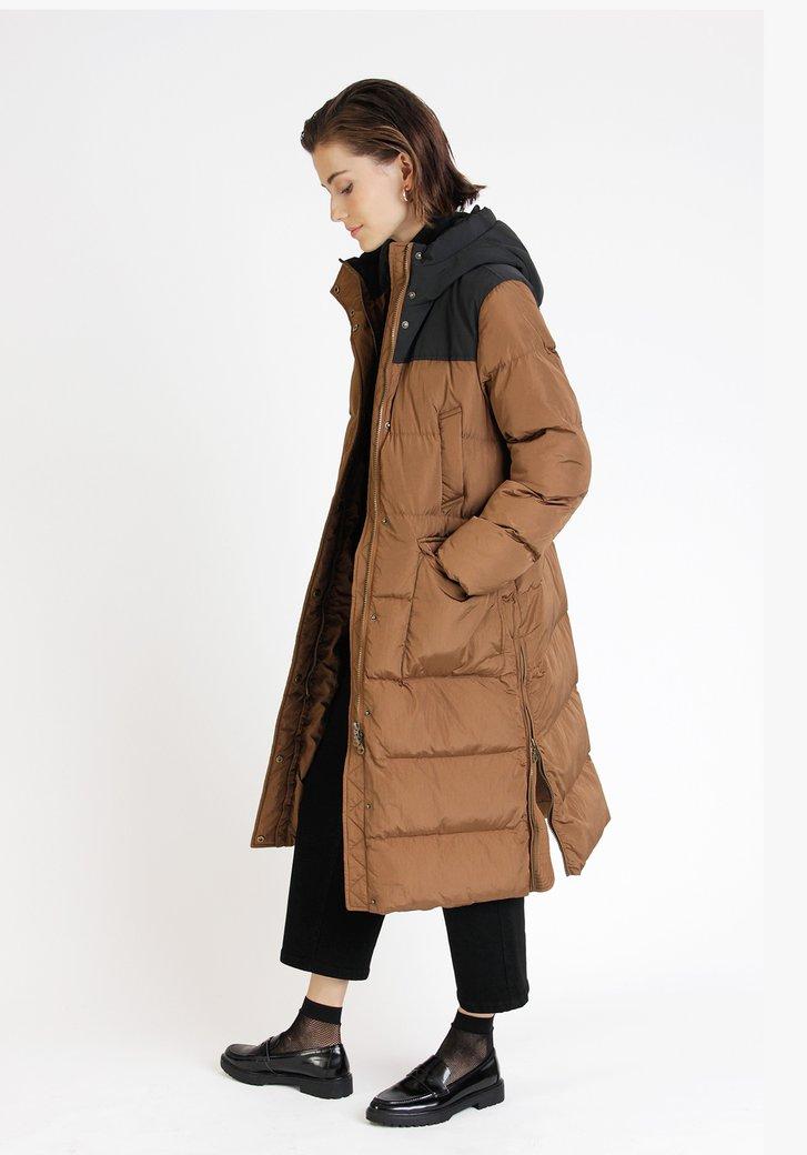 Bruine puffer jacket