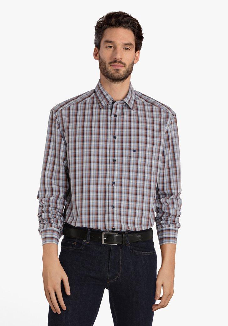 Chemise à carreaux colorés - comfort fit