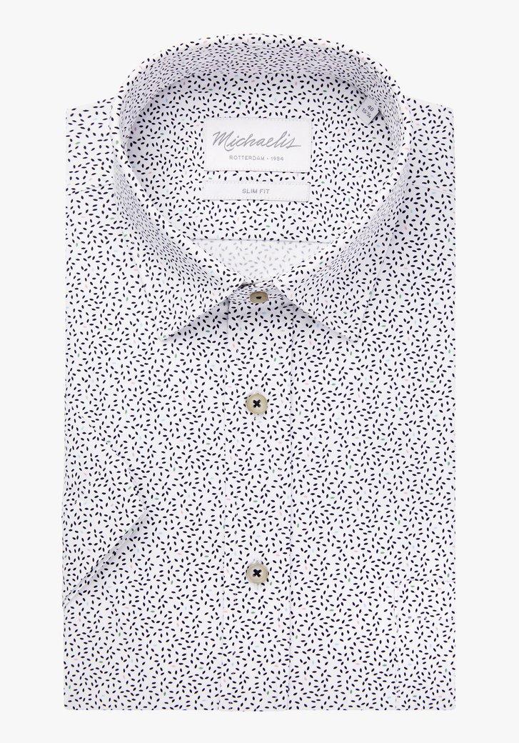 Chemise avec impression à manches courtes-slim fit