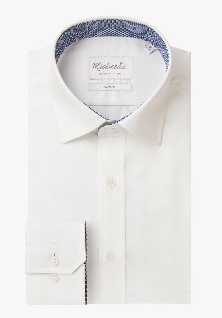 Chemise blanche – slim fit