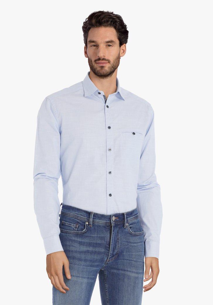 Chemise bleu clair – regular fit