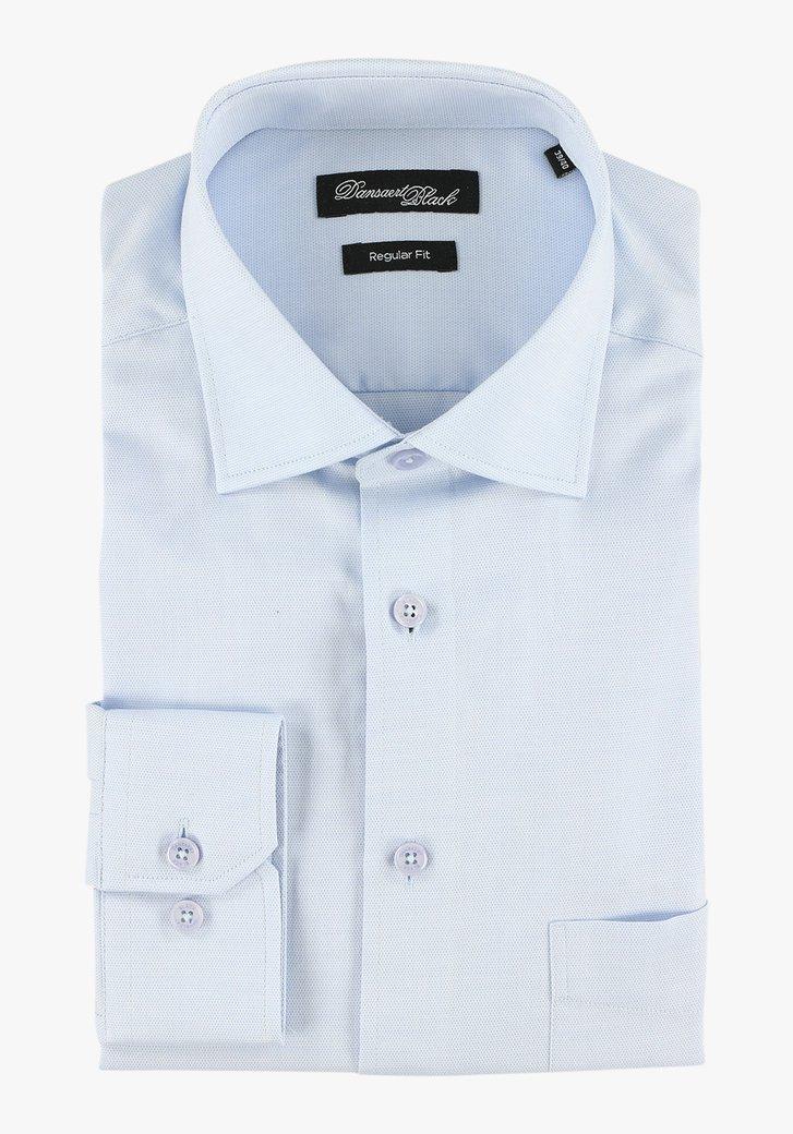 Chemise bleu clair - regular fit